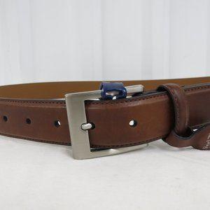 Croft & Barrow Accessories - Croft & Barrow Mens Classic Leather Tan Brown Belt